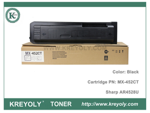 MX452 Cartouche de toner Sharp MX-452CT FT pour copieur AR4528U