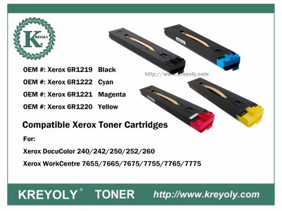 Compatible Xerox WorkCentre 7655/7755 DocuColor 240/250/260 Xerox